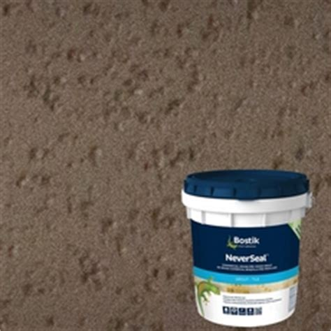 bostik never seal grout bostik neverseal delorean gray pre mixed commercial grade grout 9lb 100077569 floor and decor