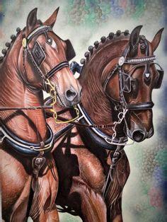 die  besten ideen zu gemalte pferde gemalte pferde