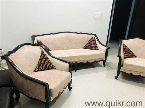 A few models are suitable for outdoor. Saghwan wooden sofa with centre table - Almost Wholesale ...