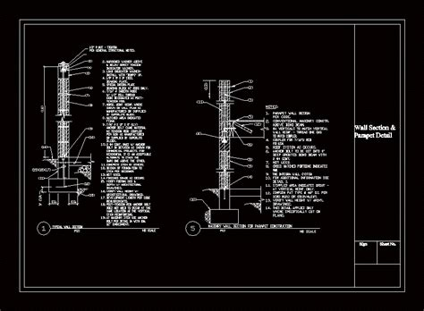 structural  learning center dwg section  autocad
