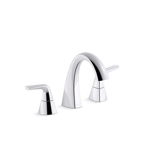 Kohler Bathroom Fixtures by Kohler Elmbrook 8 In Widespread 2 Handle Bathroom Faucet