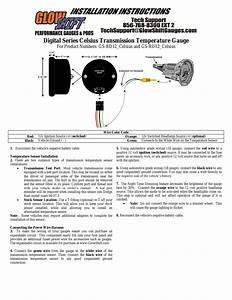 Glowshift Digital Series Celsius Transmission Temperature