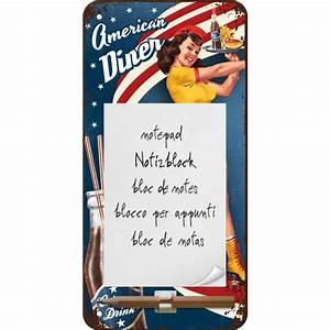 American Diner Zubehör : notizblock schild american diner waitress ca 10 x 20 cm usa ~ Sanjose-hotels-ca.com Haus und Dekorationen