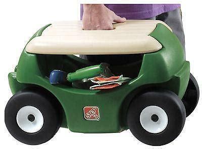 Garden Stools With Wheels - garden seat wheels ebay