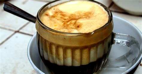Vietnamese Egg Coffee Recipe Claire Coffee Unsta Caffeine In Cup Elevate Need Quote Quotes Black And White Lasts Good Vienna