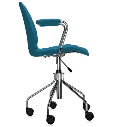 soft kartell chair on wheels milia shop