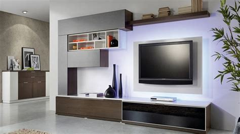 Wall Units For Living Room India by Unique Lcd Wall Units Designs