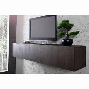 Etagere Murale Tv : etagere murale pour tv maison design ~ Teatrodelosmanantiales.com Idées de Décoration