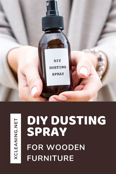 dusting spray furniture wooden xcleaning