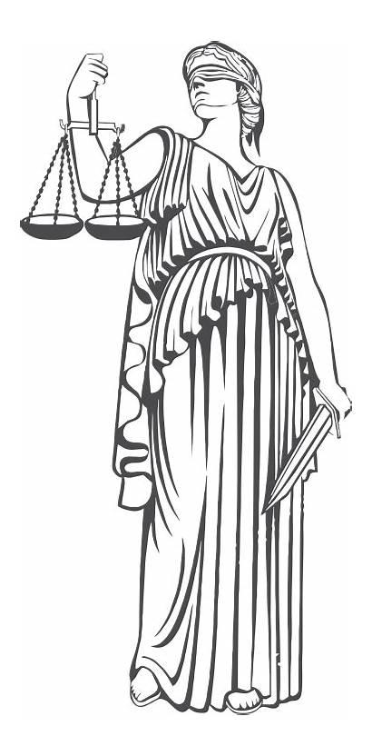 Justice Lady Transparent Restorative Themis Clipart Graphics