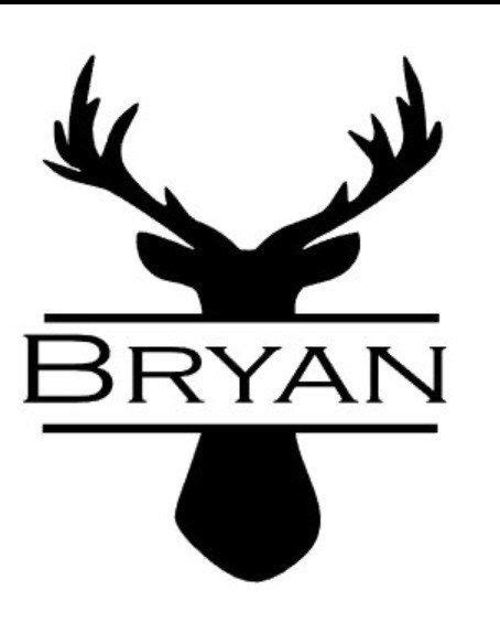 mens personalized deer yeti cup decal shops yeti cup decal  deer