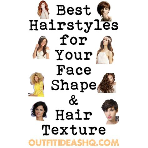 hairstyles   face shape  hair texture