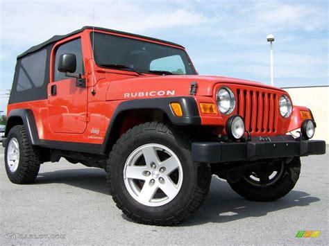 jeep rubicon orange 2006 impact orange jeep wrangler unlimited rubicon 4x4