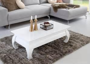 Couchtisch Weiß Hochglanz Rechteckig : couchtisch rechteckig in klassischem design otto ~ Markanthonyermac.com Haus und Dekorationen