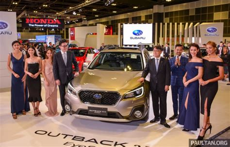 Subaru Outback Facelift, Xv 2.0 Launched In Singapore