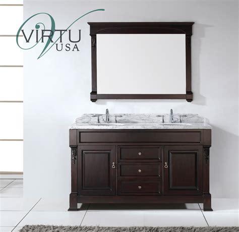 double sink bathroom vanity set  matching
