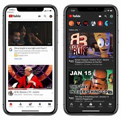 Theme Dark App Iphone Mobile Ipad Enable