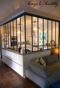 cuisine avec verriere avant apres chorizo chantilly With wonderful plan maison en u ouvert 9 cuisine avec verriare