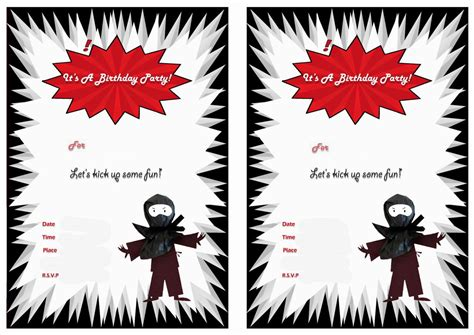pin  crafty annabelle  ninja printables birthday