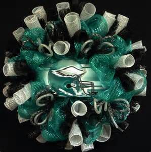 used wedding decorations for sale philadelphia eagles sports wreaths nfl football wreaths