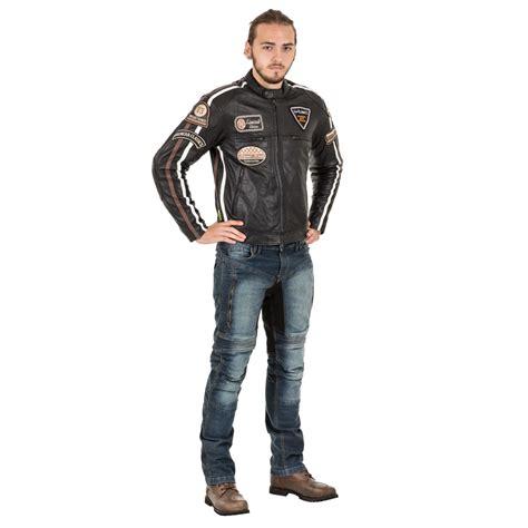 motorradjacke herren leder w tec sheawen herren leder motorradjacke insportline