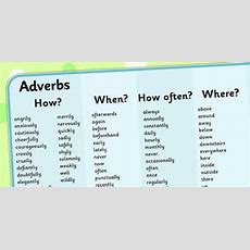 Adverb Word Mat  Verb, Adverb, Describing Word, Mat, Mats, Word Mat, Writing Aid, Ks2, Grammer