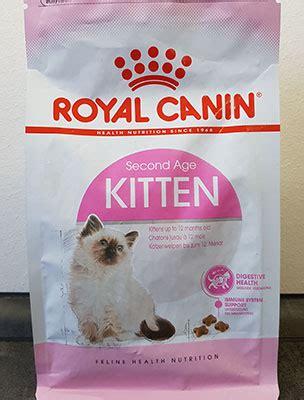 royal canin kitten katzenfutter test