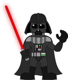 Cartoon Darth Vader Clip Art