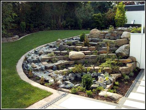 Garten Gestalten Mit Steinen  Garten  House Und Dekor