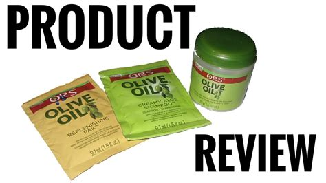 Ors Olive Oil Hair Products On Type 4c Hair