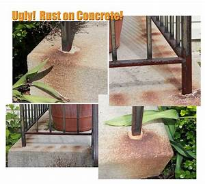 1000 images about concrete and brick staining on for How to remove rust stains from concrete floor