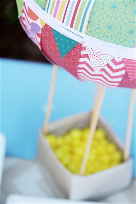 hot air balloon theme baby shower ideas themes games