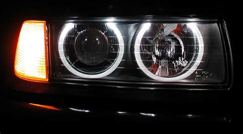replace your e36 stock projector headlights with