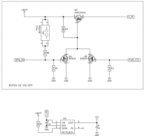 Power Supply Problem With Switch Button Circuit