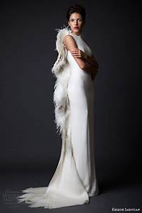 krikor jabotian fall winter 2014 2015 amal collection With wedding dress with angel wings