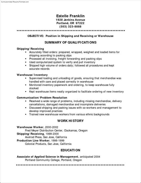 Free Resume Format For Media by Free Resume Templates Pdf Format Free Sles Exles
