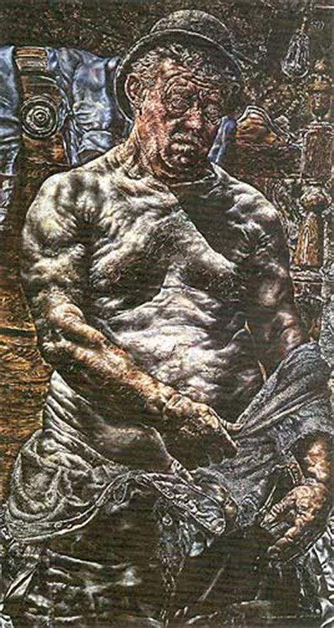 God Created In His Own Image And Created God In His Own Image 1930 Ivan Albright