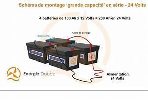 Batterie En Serie : kit 24 volts hybride complet solaire et olien 4 300 8 500 wh ~ Medecine-chirurgie-esthetiques.com Avis de Voitures