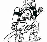 Coloring Fighter Pages Street Fire Getcolorings Printable Fireman sketch template