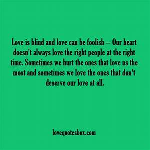 Quotes About Blind Love. QuotesGram