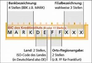 Bic Berechnen Durch Iban : sepa euro zahlungsverkehrsraum iban bic bank ~ Themetempest.com Abrechnung