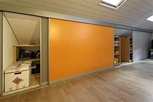 Schiebetüren Für Dachschrägen : schrank in der dachschr ge nach mass dachschr genschrank doppelt tief mit farbigen schiebet ren ~ Sanjose-hotels-ca.com Haus und Dekorationen