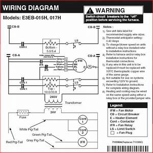 33 Electric Furnace Diagram  Eb15c Coleman Electric Furnace Parts Hvacpartstore