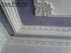 decoration du plafond en platre marocain corniche platre 171 designplafond