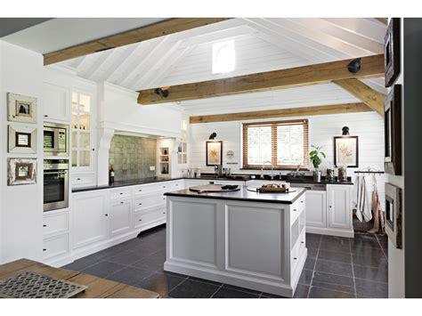 cuisine rustique blanche la cuisine blanche le des cuisines