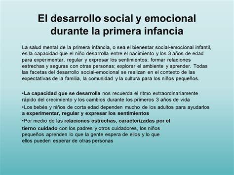siege social credit mutuel el desarrollo social y emocional durante la primera infancia sub la salud mental de la primera