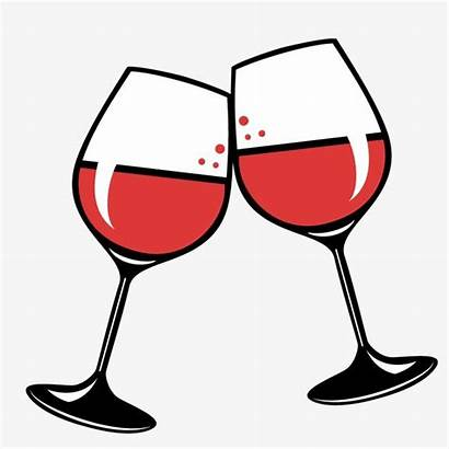Wine Cheers Glass Drawing Background Vector