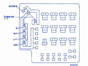 Mitsubishi Galant 1994 Underhood Fuse Box  Block Circuit Breaker Diagram  U00bb Carfusebox