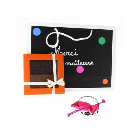 cadeau duo chocolat merci et bracelet nuage pour ma 238 tresse