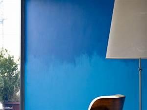 tendance peindre son mur en tie and dye elle decoration With attractive conseil pour peindre un mur 0 peindre des bandes sur un mur peinture